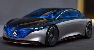Mercedes Electric Car EQS Beats Everyone's Fingers