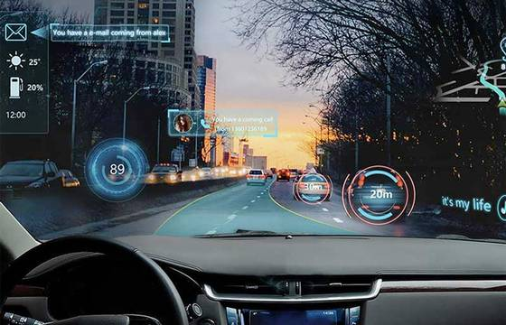 Futurus Makes The Entire Windshield a Display