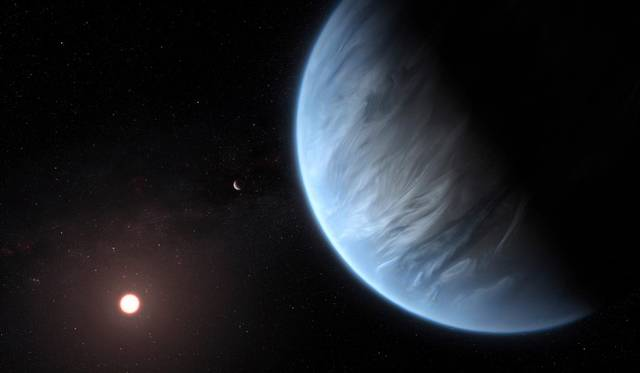 Water Vapor Found on Promising Terrestrial Planet