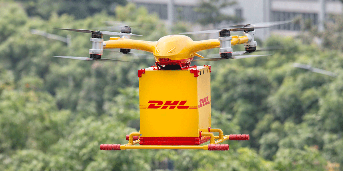 DHL was the First to Ship with Drones in Europe
