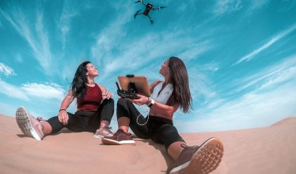 What happens if a Drone goes out of range?